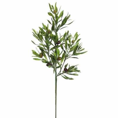 Leaf Olive Spray (Set of 3) - Wayfair