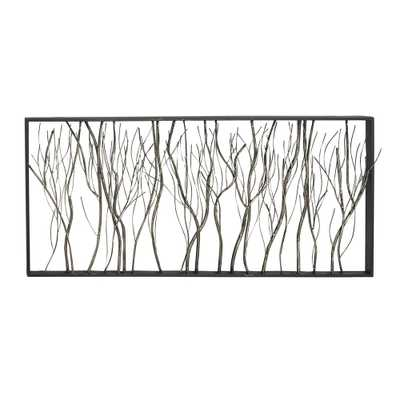 Iron Gray Twigs and Branches Metal Work - Home Depot