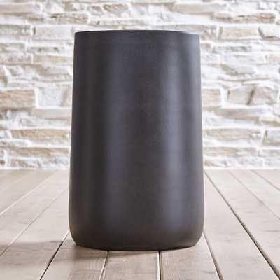 "Saabira Fiberstone 23.25"" Tall Planter - Crate and Barrel"