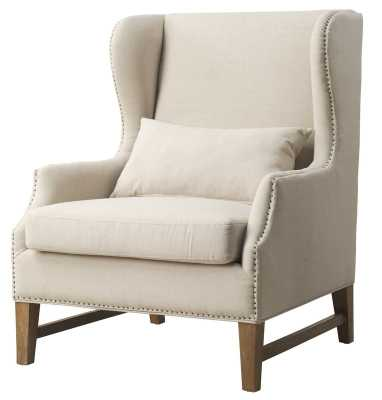 Canora Governor Wingback Chair - Wayfair
