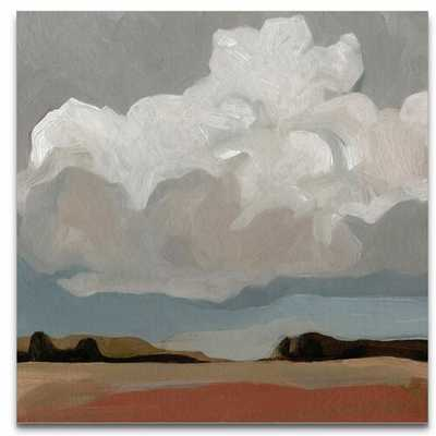 """'Cloud Formation I' Painting- WRAPPED CANVAS- 40"""" SQ - Wayfair"""