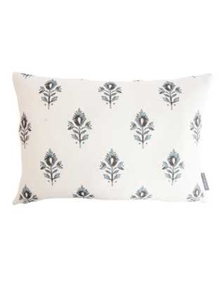 "ADDISON BLOCK PRINT PILLOW COVER WITHOUT INSERT, 14"" x 20"" - McGee & Co."