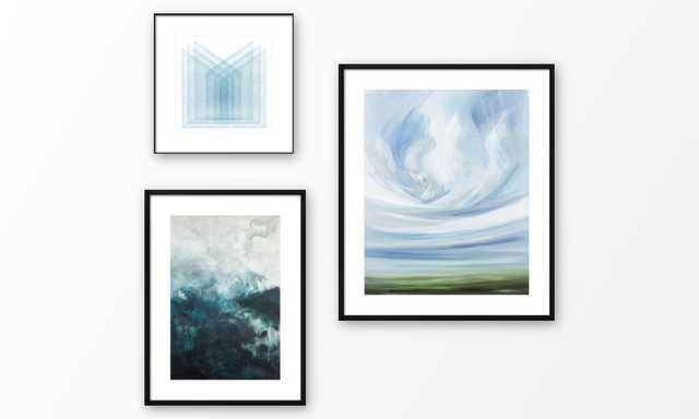 Meditative Layers Gallery Wall - Artfully Walls