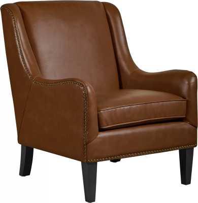 Andover Leather Armchair - Wayfair