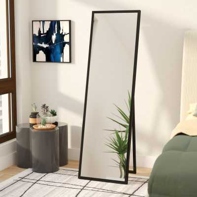 Mcgary Free Standing Floor Full Length Mirror with Adjustable Easel - Wayfair