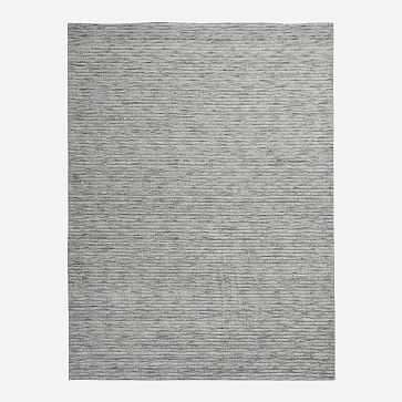 Lumini Rug, 6'x9', Pewter - West Elm