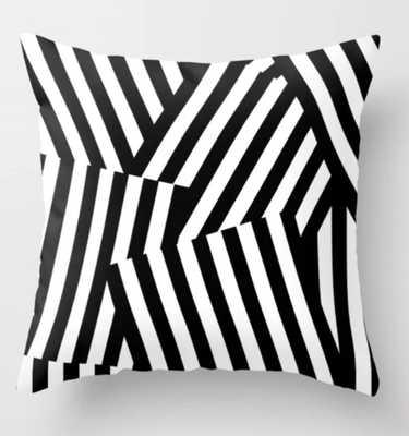 Dazzle Throw Pillow - Society6