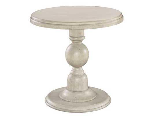 HOMESTEAD PEDESTAL END TABLE - Perigold