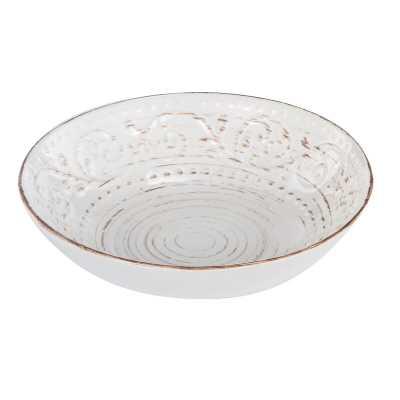 Megan Rustic Flare Decorative Bowl - Wayfair