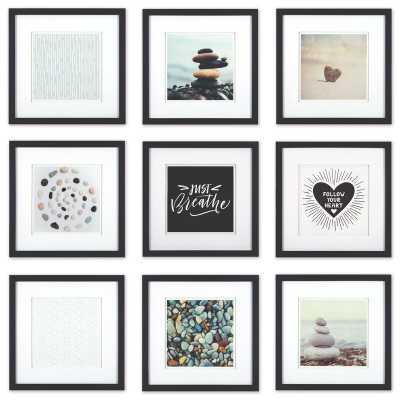 9 Piece Villareal Picture Frame Set - Wayfair