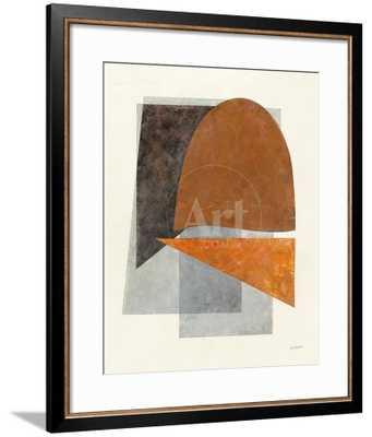 """Quintet II Crop - 24"""" x 32"""" Allegro Bronze Frame - art.com"""