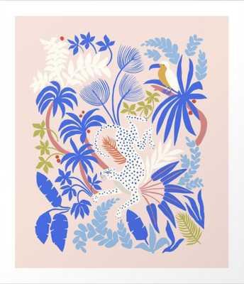Rainforest Leopard Art Print - Society6
