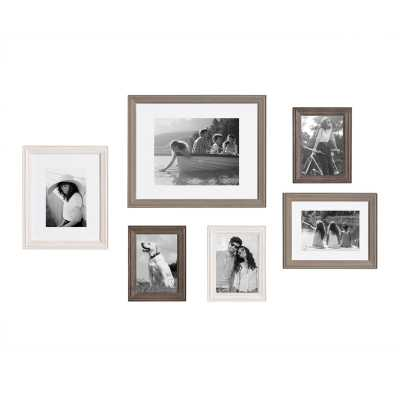 6 Piece Galiano Picture Frame Set - Wayfair