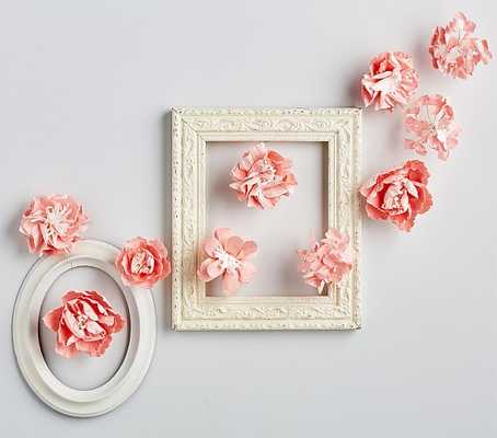 Pink Mixed Flower Wall Decor - Pottery Barn Kids