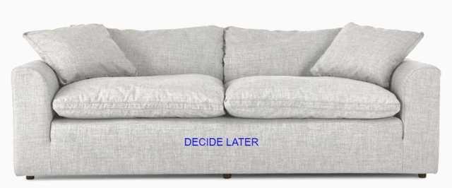 "Bryant Mid Century Modern Sofa - ""Decide Later"" fabric - Joybird"