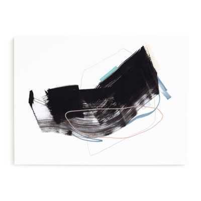 "Study 19 Print      Art Print - 54"" x 40""     Canvas Art     Museum Wrap     Color Theme: Black and white - Minted"