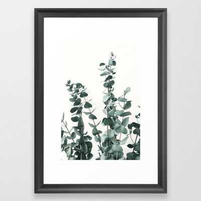 Eucalyptus Leaves Framed Art Print - Society6
