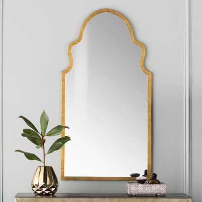 Willa Arlo Interiors Katya Accent Mirror in Gold - Wayfair