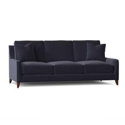 Haleigh Sofa - Sunbrella canvas navy - 34'' H x 80'' W x 39'' D - Wayfair
