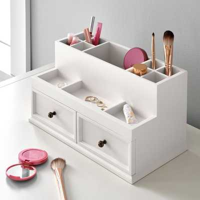 Hannah Makeup Organizer, White - Pottery Barn Teen