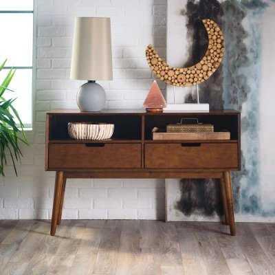 Belham Living Carter Mid Century Modern Console Table - Hayneedle