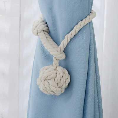 Jonathon Rural Cotton Rope Curtain Tieback (Set of 2) - Wayfair