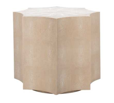 Rita End Table, Natural - Studio Marcette