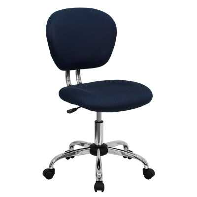 Wayfair Basics Office Chair / Navy Blue - Wayfair