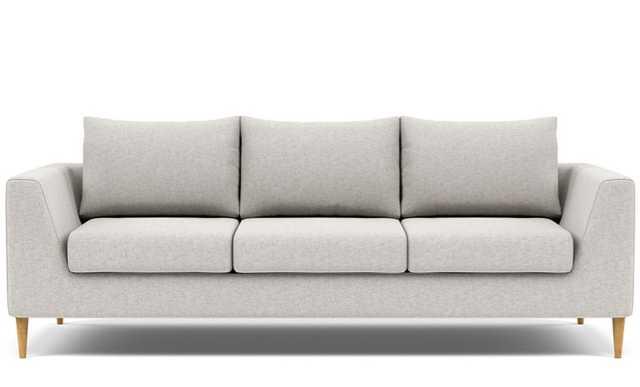 ASHER 3-Seat Fabric Sofa - Interior Define