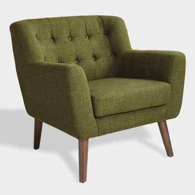 Green Mid Century Shay Chair by World Market - World Market/Cost Plus
