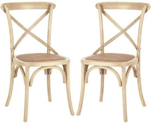 Carterville Dining Chair Set of Two - Wayfair