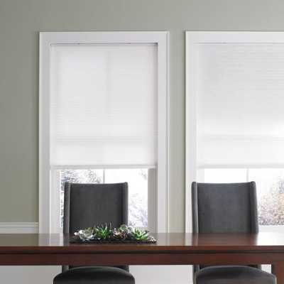 Real Simple® Cordless Cellular 13-Inch x 48-Inch Shade in Snow - Bed Bath & Beyond