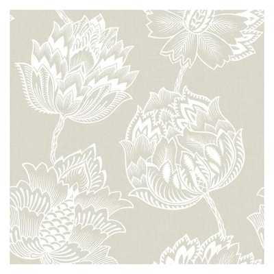 Batik Jacobean Peel and Stick Wallpaper - York Wallcoverings