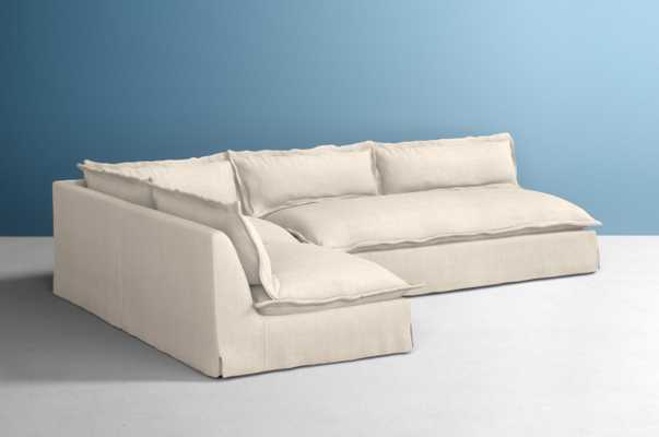 Tassa Three-Piece L-Shaped Sectional - Anthropologie