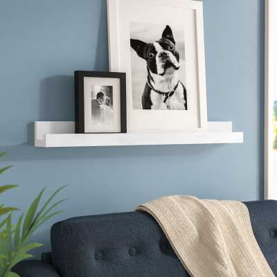 "Farallones Picture Frame Floating Shelf / 24"" - AllModern"