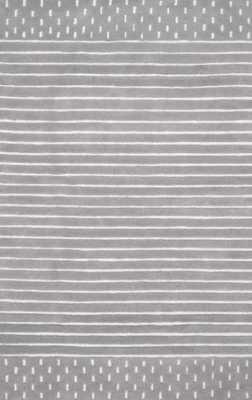 Hand Loomed Marlowe Stripes Rug - Loom 23