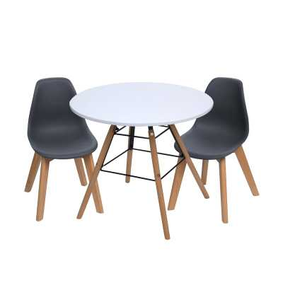 Letendre Kids 3 Piece Round Table and Chair Set - Wayfair