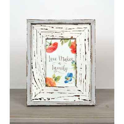 Addilynn Distressed Wood Picture Frame - Wayfair