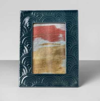 Embossed Ceramic Single Image Frame - Opalhouse™ - Target