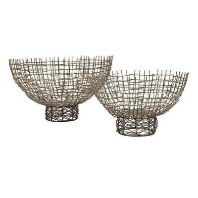 Maci Bowls - Set of 2 - Mercer Collection