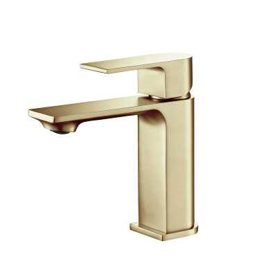 Brushed Gold Mirage Single Hole Bathroom Faucet - Wayfair