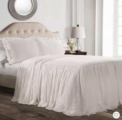 Ruffle Skirt Bedspread Set - Lush Decor - Target