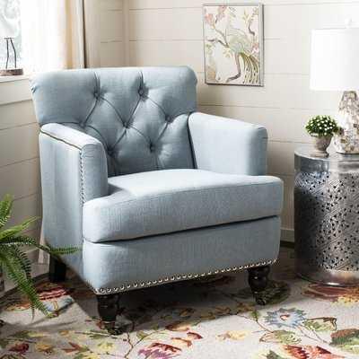 Sevigny Armchair, Sky Blue - Wayfair