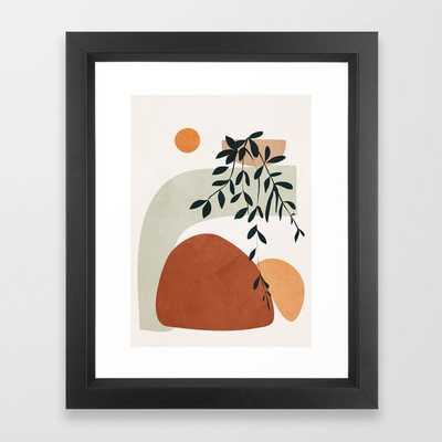 Soft Shapes I Framed Art Print by City Art - Society6