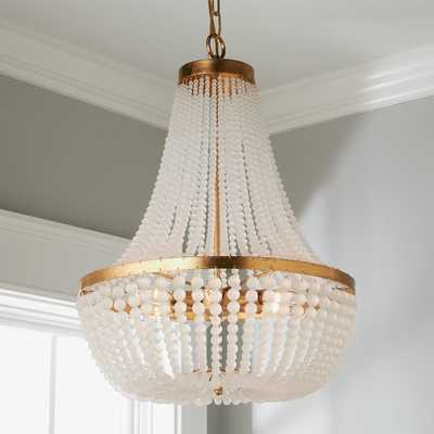 TIMELESS FROSTED BEADS BASKET CHANDELIER - Shades of Light