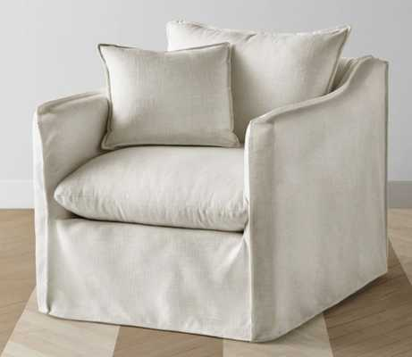 The Dune Chair - Natural Performance linen - Maiden Home