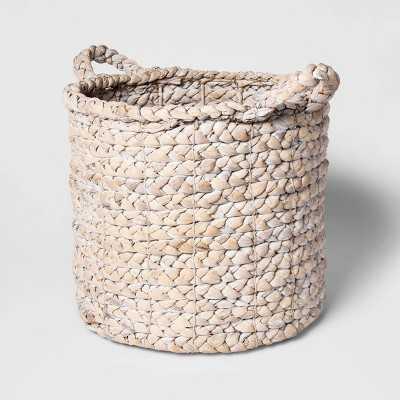"Decorative Basket White 16""x14.5"" - Threshold™ - Target"