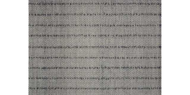 "II-01 MH CHARCOAL - 7'9"" x 9'9"" - Loma Threads"