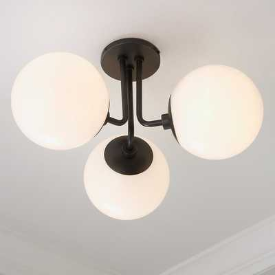 MINIMALIST GLOBE CEILING LIGHT - 3 LIGHT - Shades of Light
