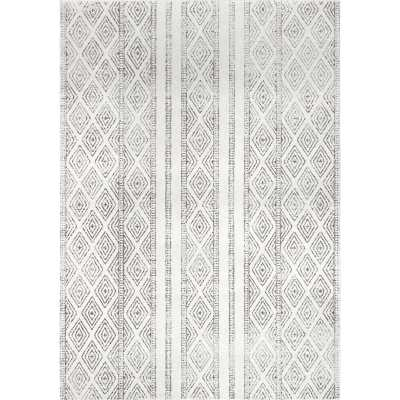 Bungalow Rose Keagan Gray Area Rug - 5x7 - Wayfair